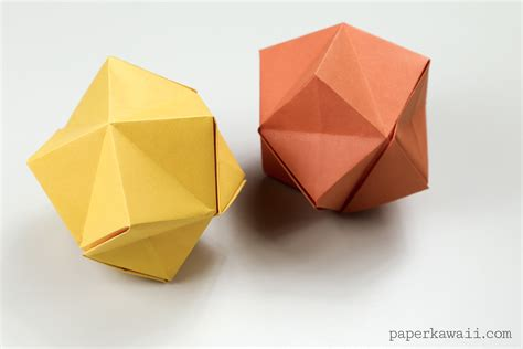 origami with origami stellated octahedron
