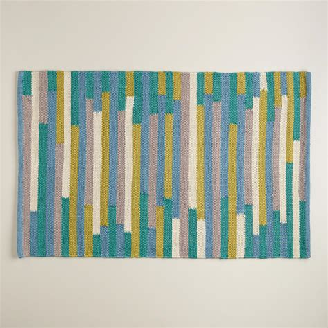 blue and green outdoor rug 2 x3 blue and green stripe reversible indoor outdoor rug
