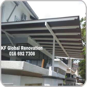 Awning Design by House Renovaton Metal Works