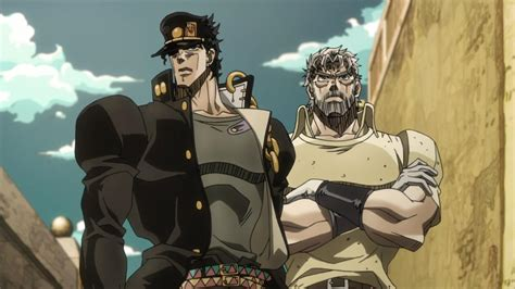 jojo stardust crusaders jojo stardust crusaders episode 10 and 11 the glorio