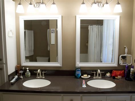 framed mirrors bathroom tips framed bathroom mirrors midcityeast