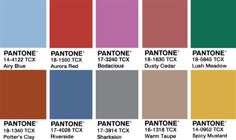 color trends 2017 how to use 2017 pantone color trends in design ny now