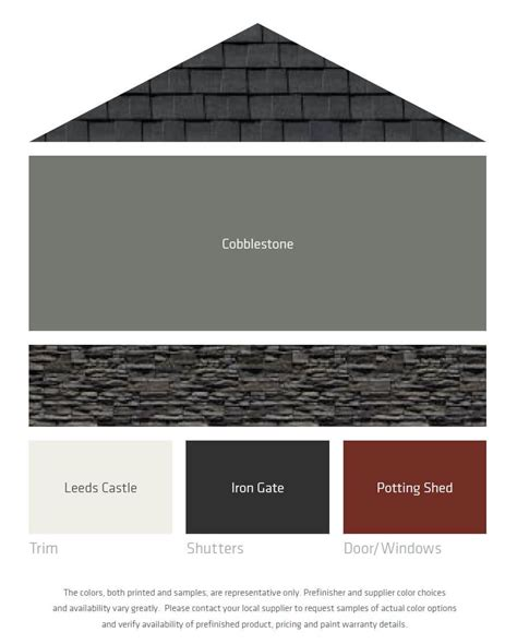 colors that look with grey fresh color palettes for a gray or black roof