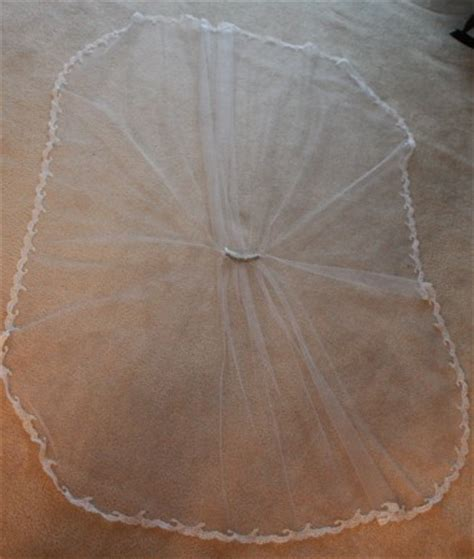 how to sew on a veil how to make a diy wedding veil