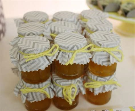 Yellow & Gray Chevron Baby Shower Ideas (Elephant Theme)   Crafty Morning