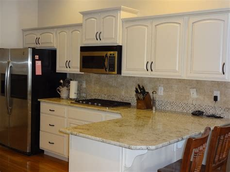 Kitchen Window Decor Ideas refinished dover white kitchen traditional kitchen