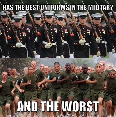the marine corps fashion show is very hit or miss military memes pinterest marine corps