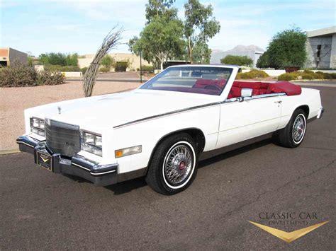 85 Cadillac Eldorado For Sale by 1985 Cadillac Eldorado Biarritz For Sale Classiccars