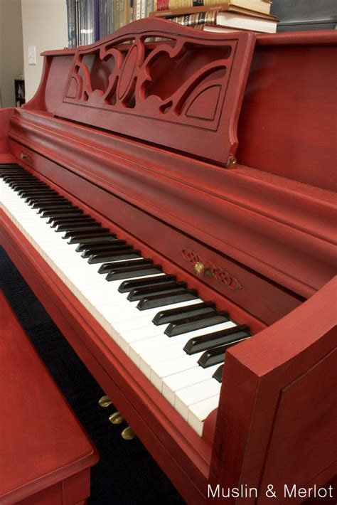 chalk paint piano piano makeover with sloan chalk paint muslin and