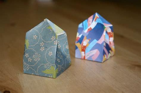origami paper bag origami gift box