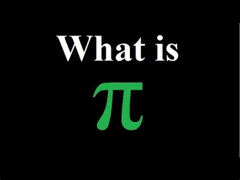 what is what is pi π explained