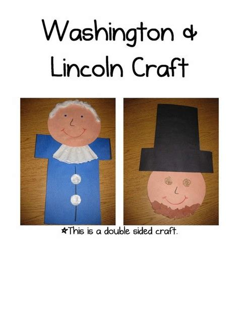 presidents day crafts for presidents day sided craft books worth reading