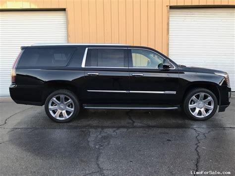 Used Cadillac Escalade Esv by Used 2016 Cadillac Escalade Esv Suv Limo Las Vegas