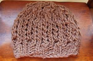 free knitting patterns for chunky wool hats chunky knit fall hat free pattern open lace design by