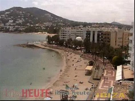 ibiza web cam live streaming ibiza beach weather webcam santa eulalia beach