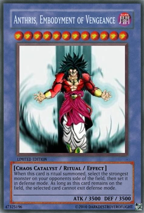 how to make a custom yugioh card custom yugioh card by darkdestroyeroflight on deviantart