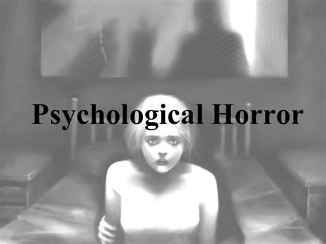 psychological horror psychological horror research