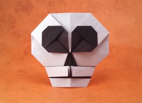 skull origami origami skulls and skeletons page 2 of 2 gilad s