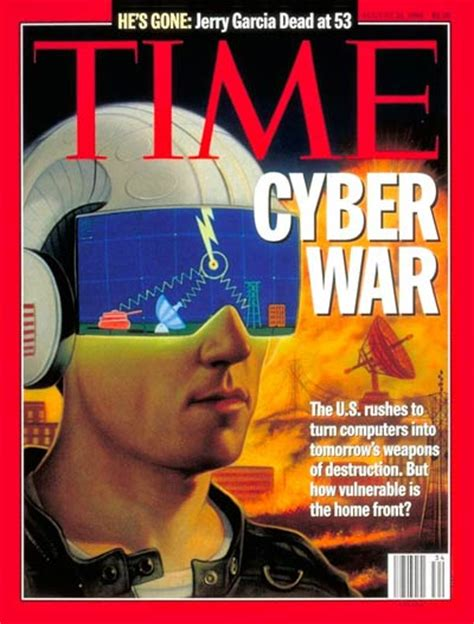magazine archive time magazine cover cyber war aug 21 1995