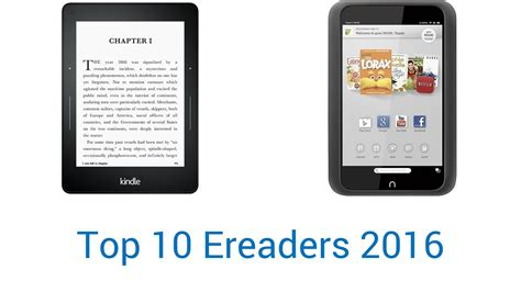 best reader 10 best e readers 2016