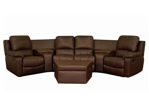 theatre sectional sofas broadway home theater seating sectional brown stargate