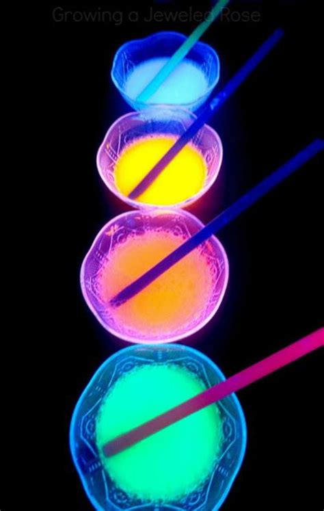 how to make glow in the paint without phosphorescent powder make your own glow in the bubbles using just two