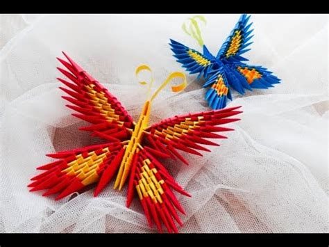 how to make 3d origami butterfly origami motyl krok po kroku how to make a origami