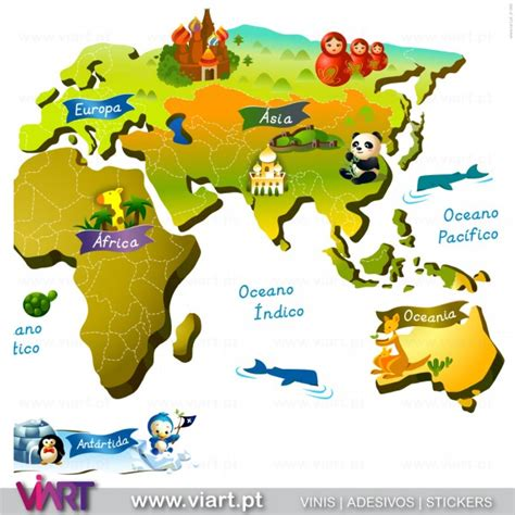 Wall Window Stickers world map with baby name wall stickers viart