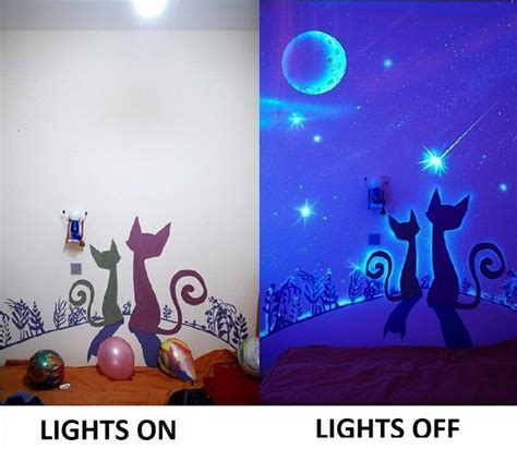glow in the glitter wall paint painting rooms room painting ideas types of paints