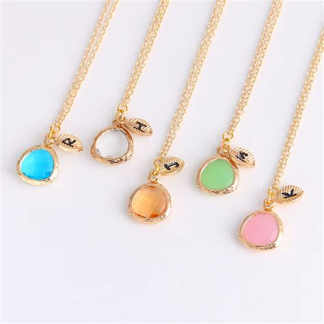 jewelry crystals aliexpress buy d m fashion custom name personalized
