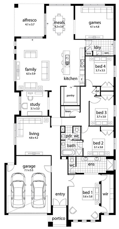 large family floor plans floor plan friday large family home chambers