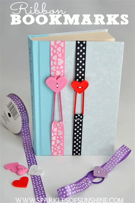 easy craft ideas 25 best ideas about ribbon bookmarks on easy