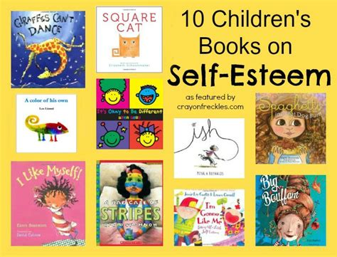 childrens picture books crayon freckles 10 children s picture books on self esteem