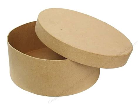 paper mache craft boxes paper mache box 7 1 2 in by craft pedlars