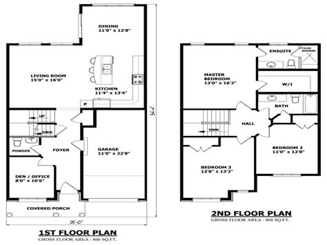 small two story floor plans two story house floor plans inside of two floor houses