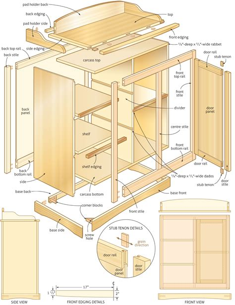 woodworking plans wooden changing table woodworking plans pdf plans