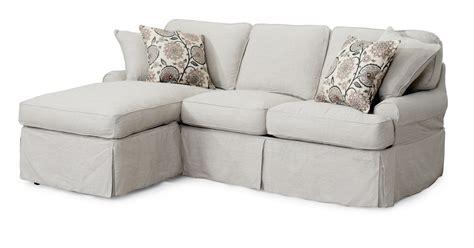 slipcovered sleeper sofas sunset trading horizon slipcovered sleeper sofa and chaise