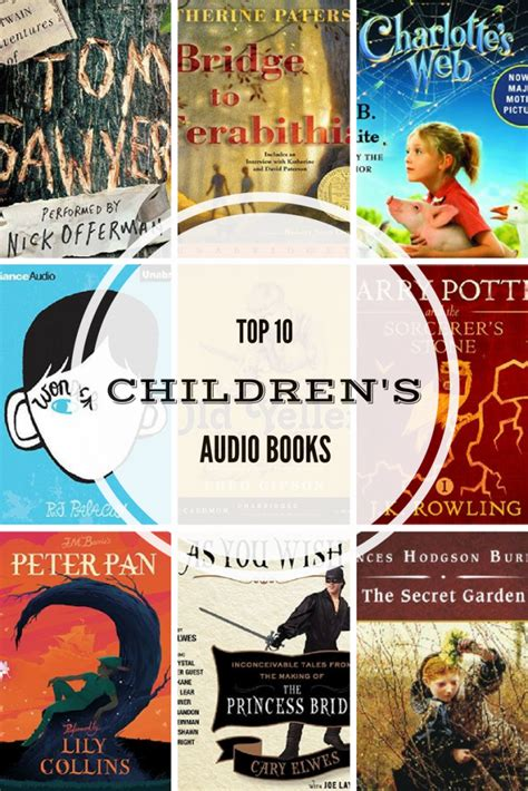 free children books with audio and pictures top ten children s audio books for and families