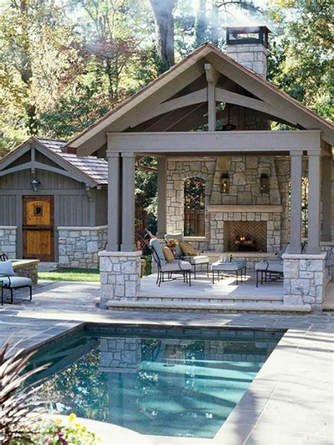 backyard porch designs for houses 14 comfortable and modern backyard pool ideas home design and interior