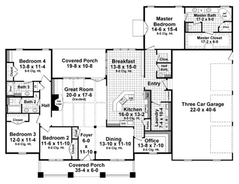 square floor plans for homes 2800 square foot house plans homes floor plans
