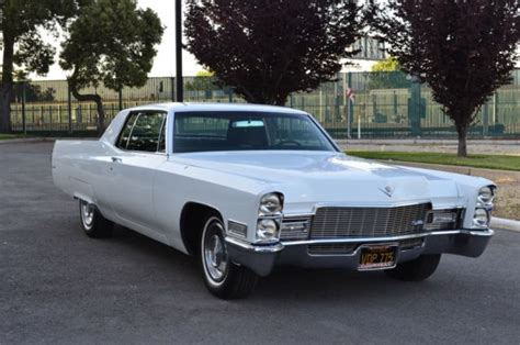 1968 Cadillac Coupe by 1968 Cadillac Coupe Clean California Rust Free