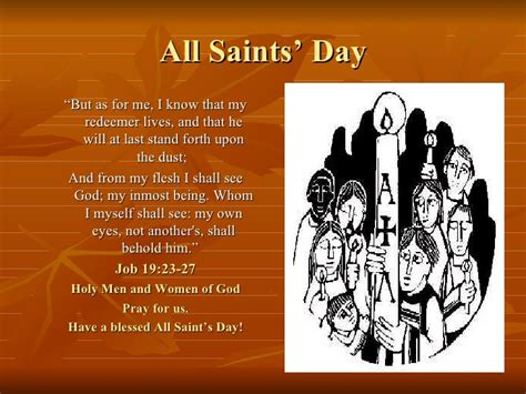 st s day solemnity of all saints
