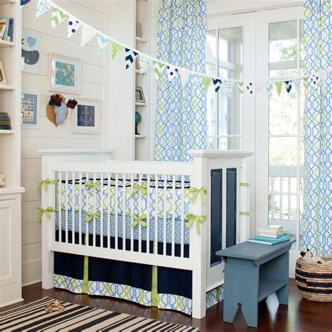 baby crib bedding for navy waves crib bedding baby bedding for boys carousel