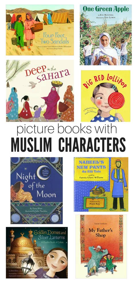 picture books for 10 picture books with muslim characters no time for