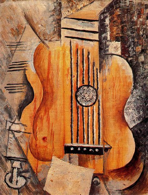 picasso paintings with musical instruments picasso s cubist guitar picasso painting and cubism