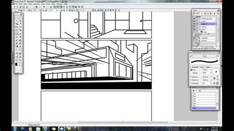 paint tool sai perspective ruler perspective rulers in studio scribbles with