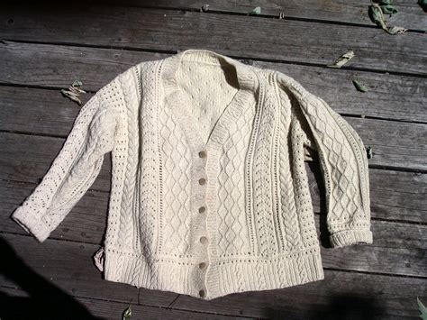 how to knit aran sweater aran jumper