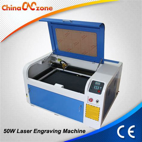 laser rubber st machine high precision 50w co2 rubber st laser engraving