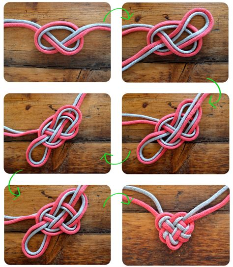 how to make celtic knot jewelry diyheartknotnecklace
