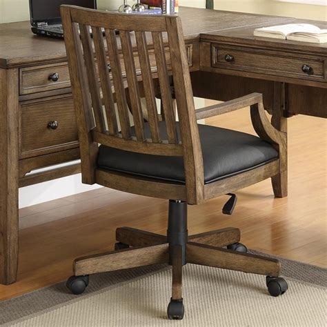 wooden swivel chair wooden swivel desk chair whitevan